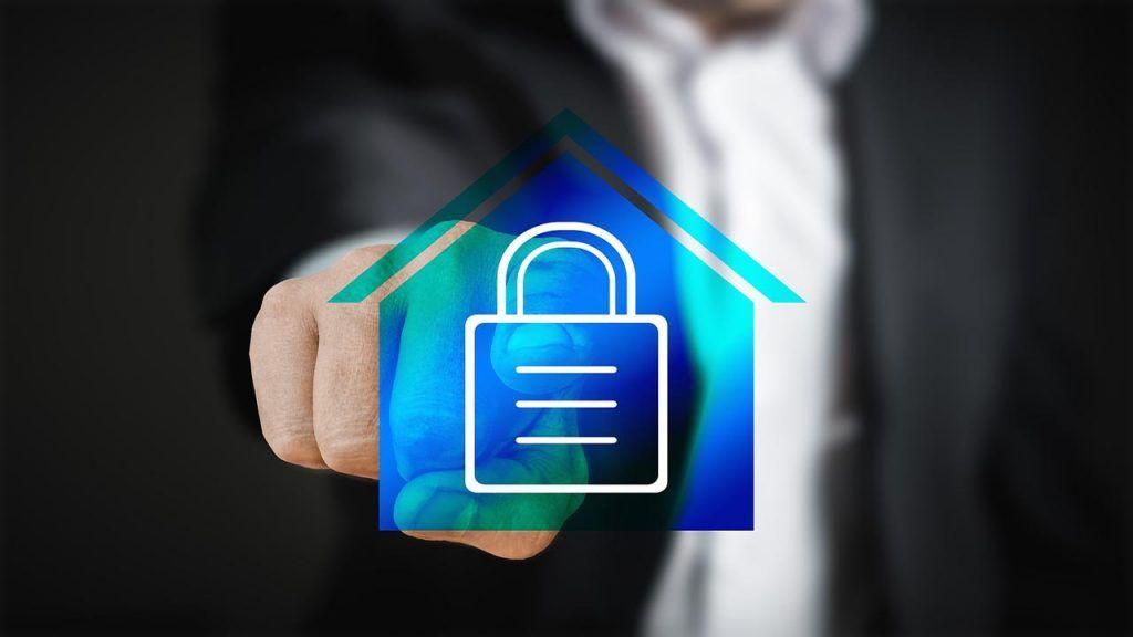 Casa segura con alarma monitoreada