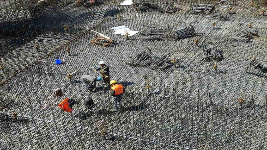 control de una obra en construcción