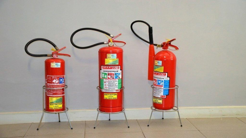 control de extintores en una empresa