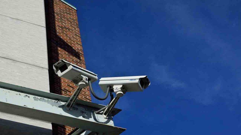 cámaras de seguridad de un sistema domótico