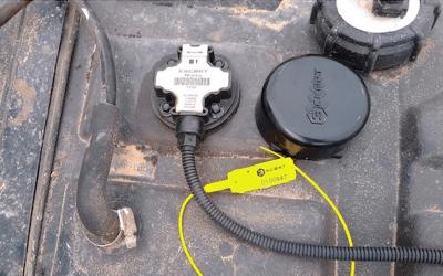 sensor de combustible para flotas